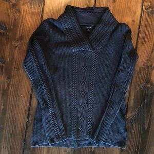 Nautical Charcoal Cozy Sweater
